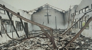 Burnt Church: Police Arrest 15 Youths In Kano