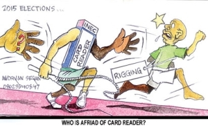 Card reader opposers are poll fraudsters – APC
