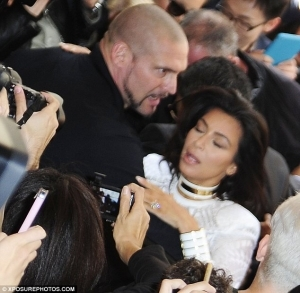 Celebrity Prankster Pulls Kim Kardashian's Hair And Pushes Her To The Floor