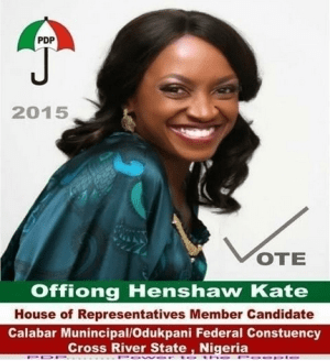 Check Out Actress Kate Henshaw New Election Campaign Poster