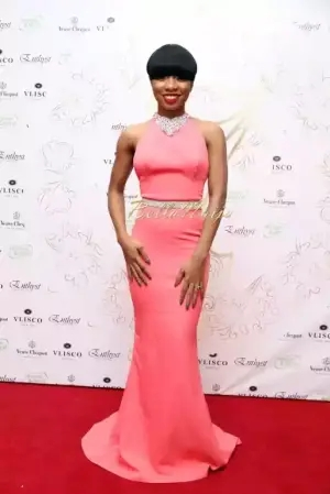 Check Out Mo'Cheddah Outfit To TW Magazine's 7th Anniversary Event