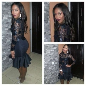 Check Out Tiwa Savage's Outfit To MTN Project Fame Season 7's Finale | PHOTOS
