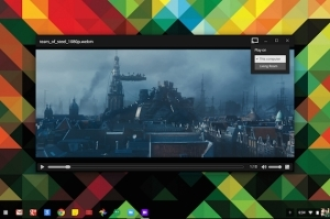 Chomebook- to-Chromecast  video? Yes, with  Google Drive