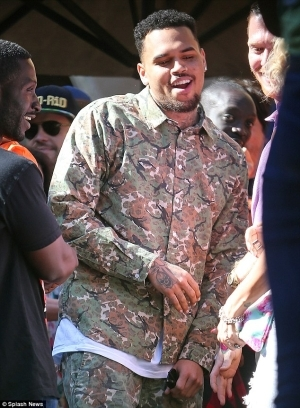 Chris Brown Admits That He Was Embarrassed Of Weight Gain After Leaving Jail