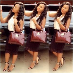 Classy Or Trashy? Mercy Aigbe's Attire To Sunday Service