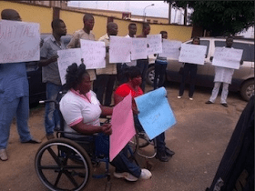 Collapsed Building Inquest: Sympathisers March To Court Carrying Placards To Exonerate TB Joshua