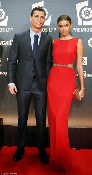 Cristiano Ronaldo and His Girlfriend Make A Rare Red Carpet Appearance Together At LFP Football Awards – Photos