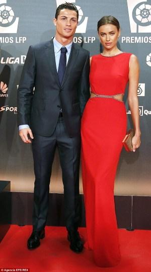 Cristiano Ronaldo wishes Irina Shayk 'the greatest happiness'
