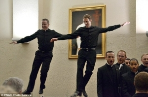 Dancing Priests Become Internet Sensation