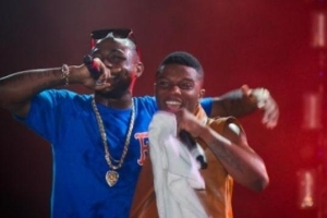 "Davido And Wizkid ""Battle It Out"" Together At Soundcity Blast"