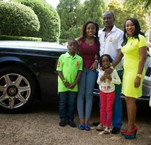 Dayo Adeneye shows off his beautiful family