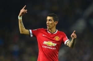 Di Maria is happy  at Manchester United, insists  wife