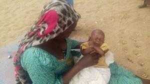 Displaced Borno Woman Names Baby After Buhari