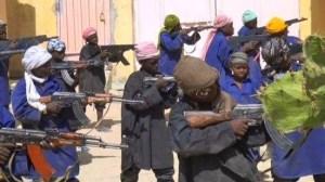 Disturbing pics credited to Boko Haram training underage boys