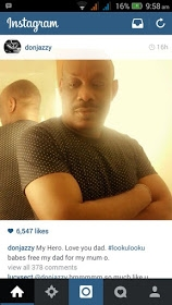 DonJazzy Shares Picture Of His Dad