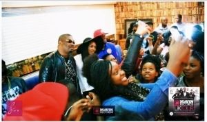 Donjazzy And The Mavin Crew Meets With the Students of University of Manchester | Photos