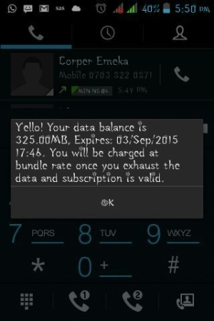Enjoy 325MB And Above On Your MTN Sim