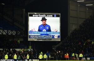 Everton fans feature in new film by Sylvester Stallone