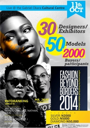 Fashion Beyond Borders Glitzes Up The South-South With Patoranking and Mr.2Kay