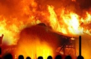 Fire Guts Otukpo Main Market, 120 Shops Burnt