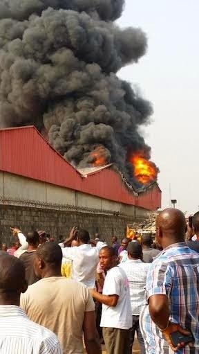 Fire incident at Kirikiri