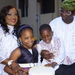 Foluke Daramola-Salako shares photos of her family.