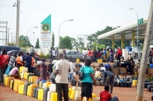 Fuel Scarcity Gobe: Air Force Corporal Slaps Inspector At Filling Station