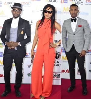 Funmi Iyanda, Gideon Okeke, Gbenro Ajibade, others at 'A Place in the Stars' premiere