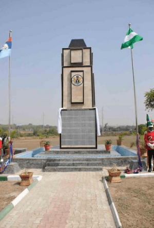 GEJ commissions cenotaph for soldiers killed by Boko Haram since 2011