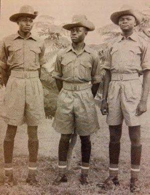 Gen. Buhari back then in the year 1962