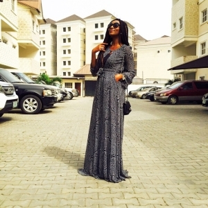 Genevieve Nnaji Stuns In New St. Genevieve Collection Outfit