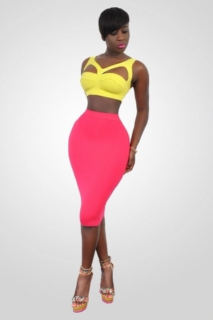Ghanian actress, Princess Shyngle shows off killer curves