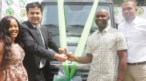 Glo Gives Out N35m Benz G-Wagon To Promo Winner