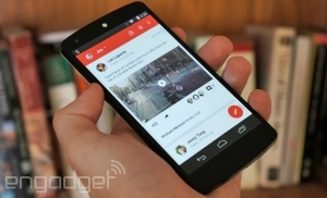 Google+ is the  latest Android  app to get a  Material Design  makeover