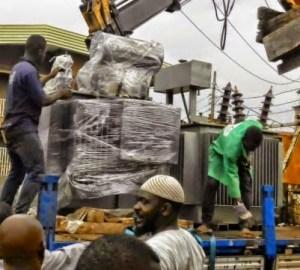 Gov. Ajimobi Replaces Transformer Removed  From Community
