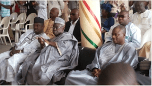 Governor Muazu Of Niger State spotted in RCCG Church
