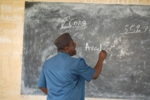 Governor Okorocha Turns Economics Teacher (Photo)