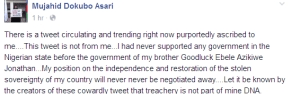 I Support Any Government In Power - Asari Dokubo