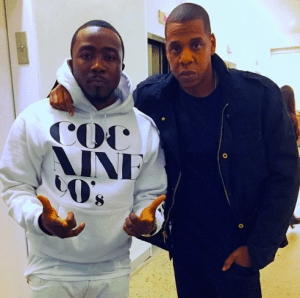 Ice Prince Meets With Jay Z
