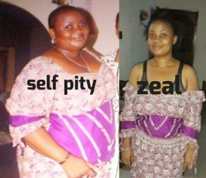 Ifedolapo Towobola tells weightloss story with Photos