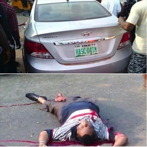 Imo State Commissioner Assassinated (Graphic Photo)