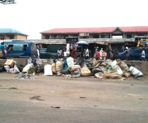 In Ogun, people live, trade in the midst of dirt