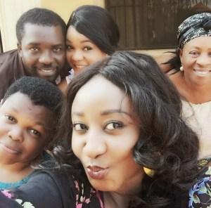 Ini Edo,Omoni Oboli,Osita Iheme And Others On A Set Of New Movie In Delta(Pics)