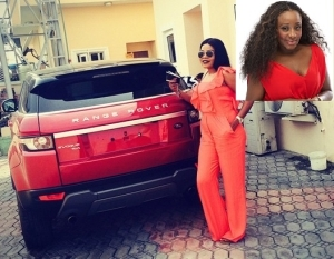 Ini Edo got herself another SUV