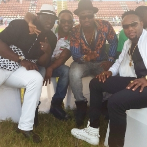 Iyanya, Kcee, Harry Song, Sammie Okposo at GEJ Rally in Calabar Today – PHOTO