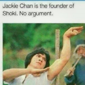 """Jackie Chan Was The Founder Of The Popular Dance Known As """"SHOKI""""."""