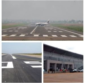Jonathan Reveals He's Fulfilled Promise To Re-Open Akanu Ibiam International Airport In Enugu