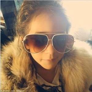 Just Like Mommy: Jennifer Lopez's Daugther Channels Her Mom in Sweet Instagram Pic