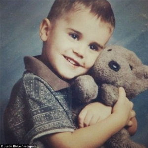 Justin Bieber Posts Adorable Throwback Photo Of Himself