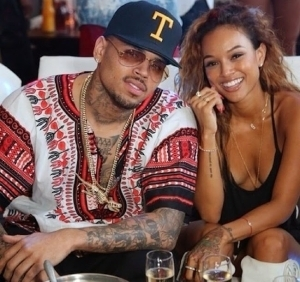 Karrueche finally dumps Chris Brown, says no baby drama for her
